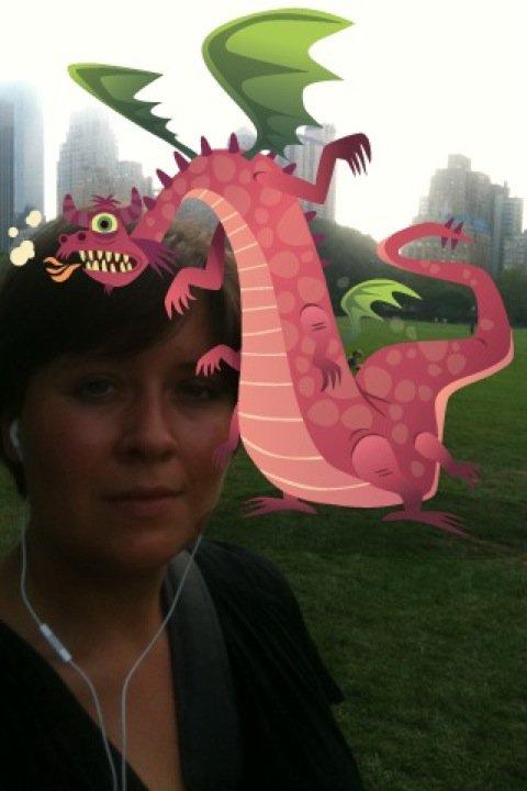 Drager-tæmmer i Central Park i 2010